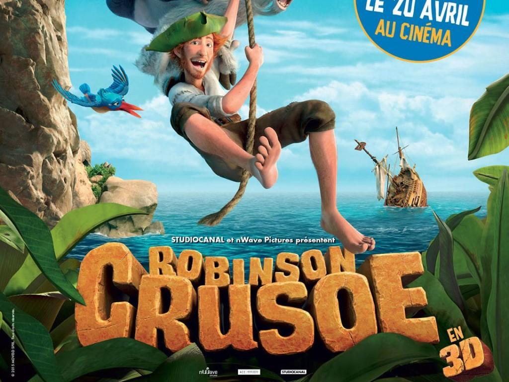 Robinson Crusoe film animation