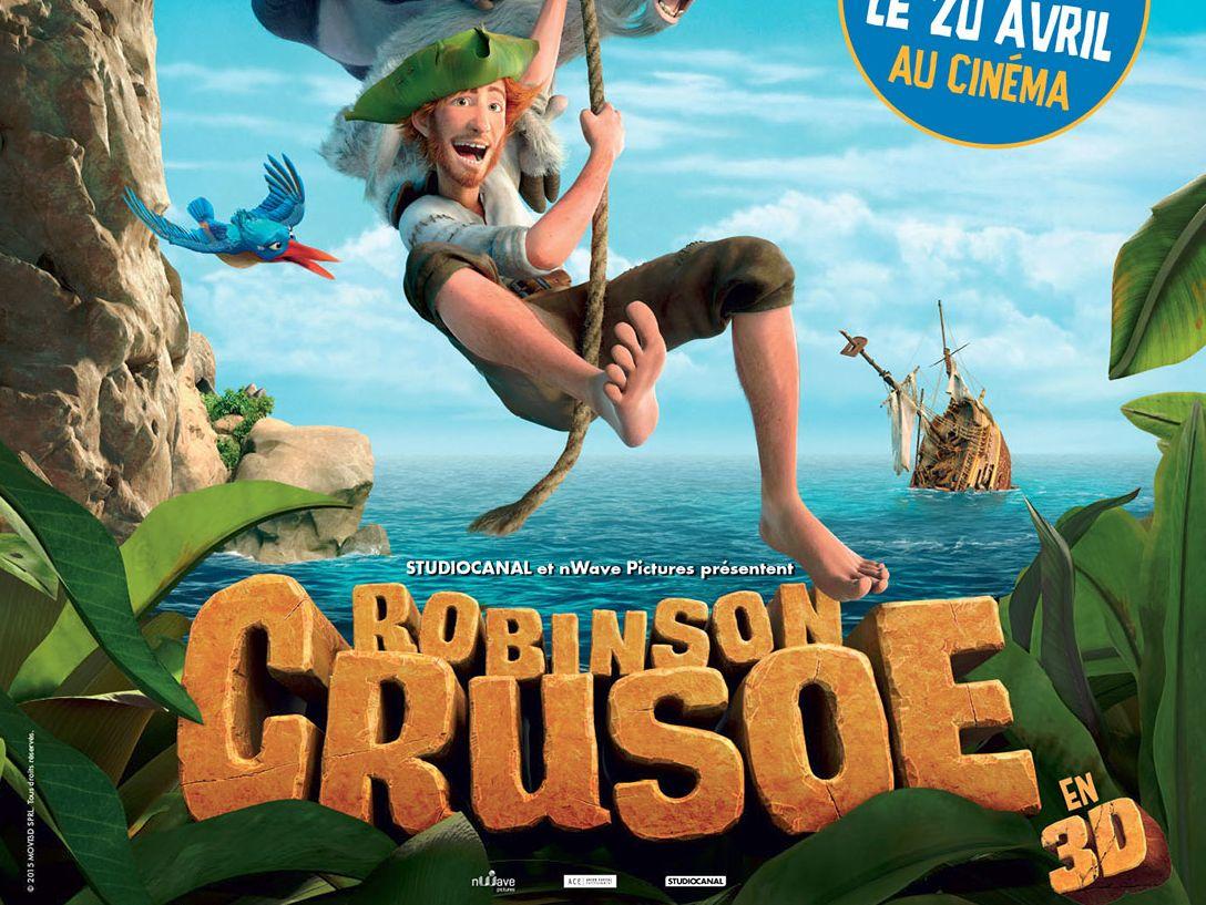 Robinson Crusoe, le résumé, la bande annonce et l'affiche du film