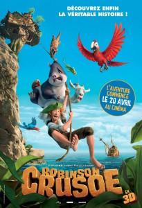 affiche du film Robinson Crusoe