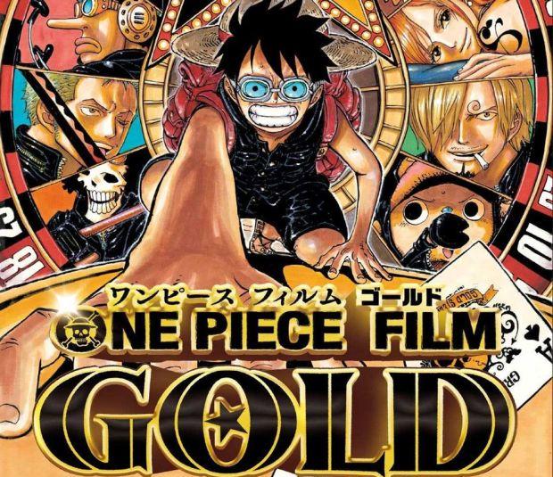 One Piece Gold, l'affiche, la bande annonce et la date de sortie japonaise